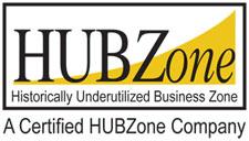 A Certified HUBZone Company - logo