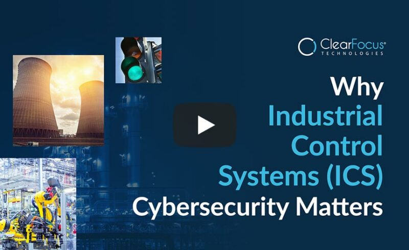 """Video title screen for """"Why Industrial Control Systems (ICS) Cybersecurity Matters'"""